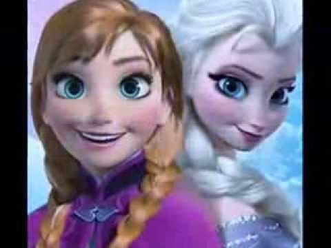 Frozen (Hot 'n' cold) Anna and Elsa