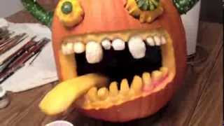 How To Carve A Prize Winning Pumpkin Or Jack-o'-lantern By Artist, Wayne Andreason.