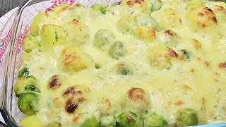 Kartoffelauflauf mit Rossenkohl