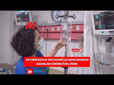 Kayseri Devlet Hastanesi Çalışanlarından Kadınlar Gününe Özel Video