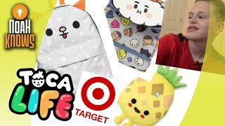 LOOKING AT ALL THE TOCA BOCA TARGET ITEMS!! - Shopping with Noah Knows
