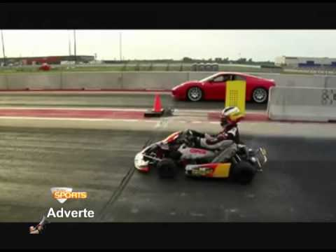 TVBV SPORTS Adverte - FERRARI X KART