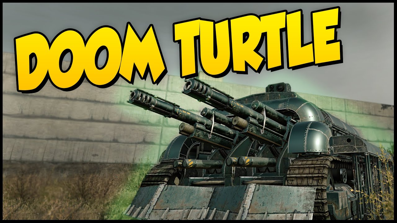 crossout doom turtle   know your enemy   twin 100s