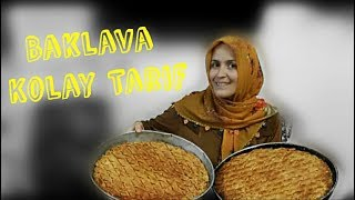 Arkadaşım Fatma'yla Bayrama Özel Ev Baklavası Yaptık