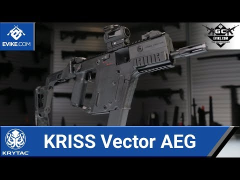 Krytac KRISS Vector AEG - The Gun Corner - Airsoft Evike.com