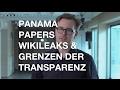 Panama Papers und Wikileaks: Wie gehen Journalisten mit geheimen Informationen um?