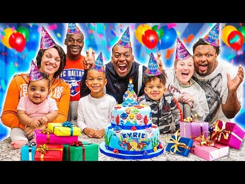 KYRIE'S SURPRISE BIRTHDAY PARTY