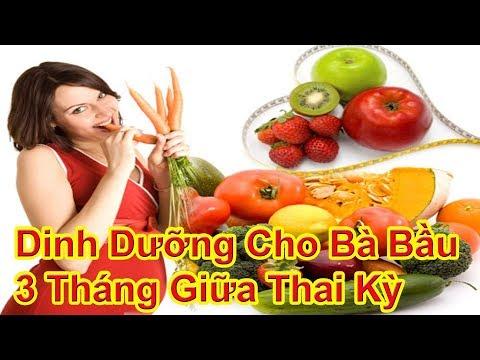 ✅ Chế Độ Dinh Dưỡng Cho Bà Bầu Ở 3 Tháng Giữa Của Thai Kỳ   Mang Thai 3 Tháng Giữa Ăn Gì ?