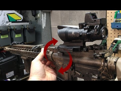 AR15 Receiver Slop/Wobble? Is it bad and how to fix it!