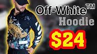 65ecd7778 فتح علبة سترة OFF WHITE DIAG GALAXY hoodie Replica من موقع Joom - Duration:  6 minutes, 34 seconds.