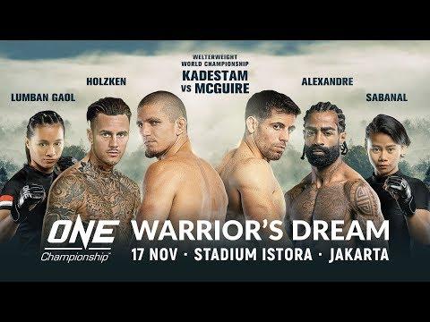 [Full Event] ONE Championship: WARRIOR'S DREAM Mp3
