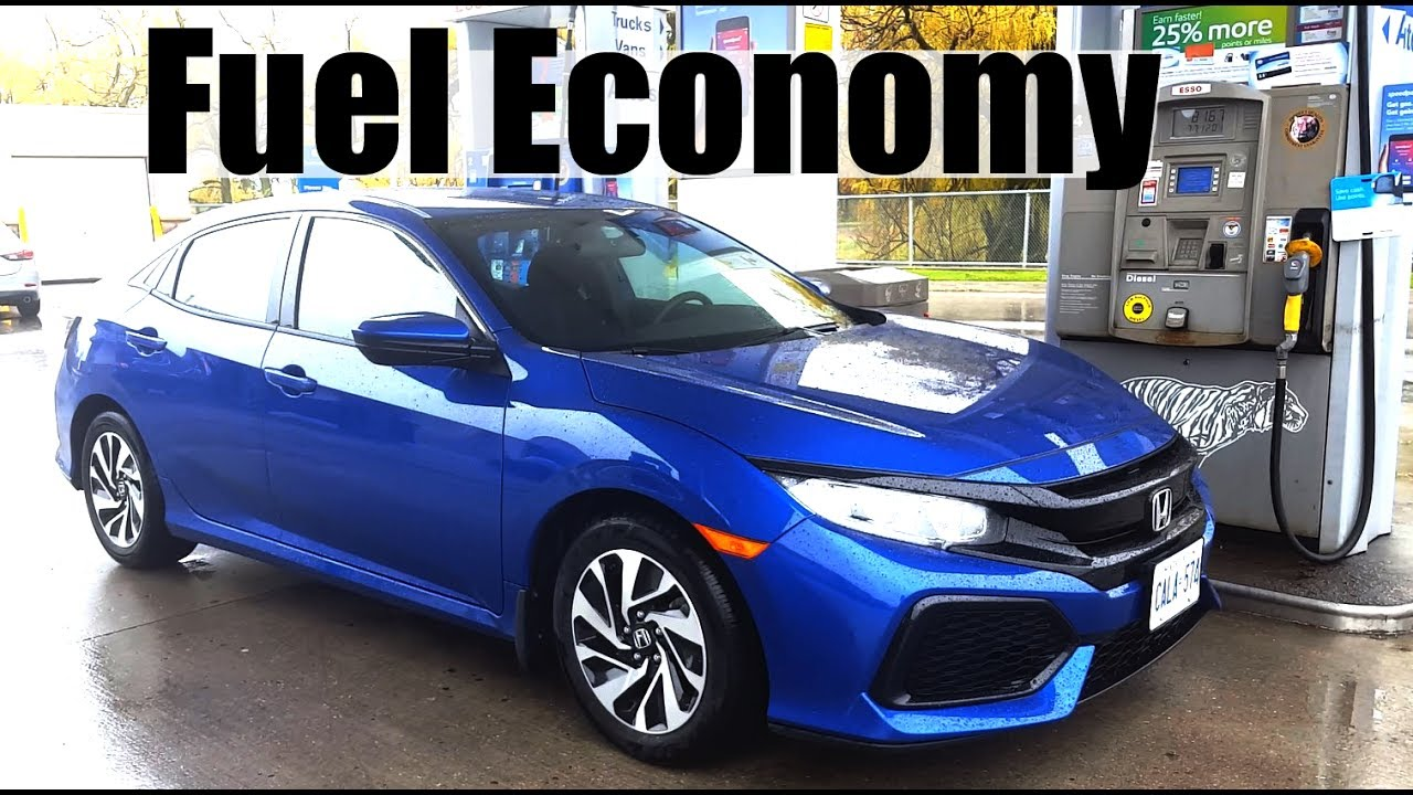 2018 Honda Civic Hatch Fuel Economy Mpg Review Fill Up Costs
