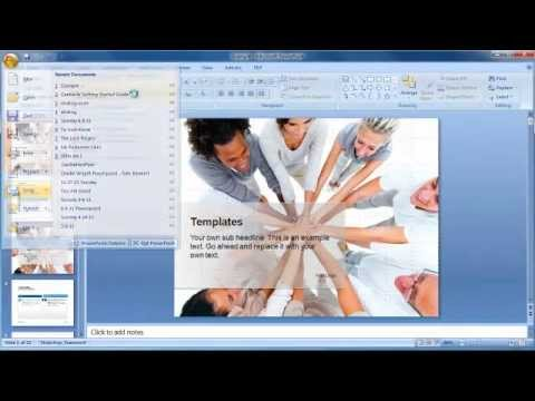 How to Email a Powerpoint Presentation