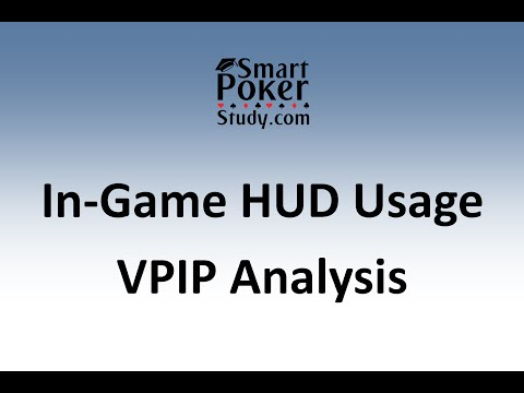 VPIP Statistic | In-Game Poker HUD Usage Series | SmartPokerStudy.com