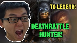 [AmazHS] Deathrattle Hunter To Legend!- Boomsday Standard Deck!