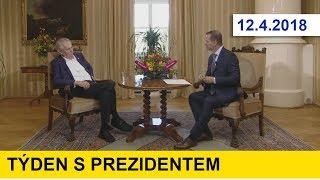 Týden s prezidentem 12.4.2018