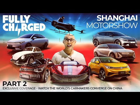 Shanghai Motor Show pt. 2 - watch the World's carmakers converge on China | Exclusive Coverage