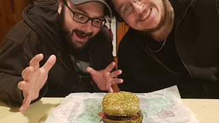 BK Nightmare Burger Taste Test