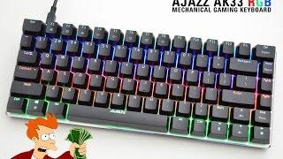 ajazz ak33 rgb mechanical gaming keyboard