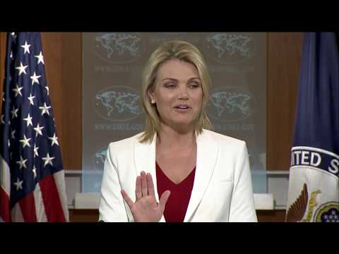 Department Press Briefing - August 9, 2017