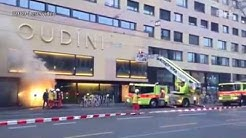 Brand beim neuen Zürcher Kino Houdini