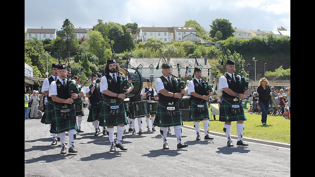 Youghal Pipe Band Video 15