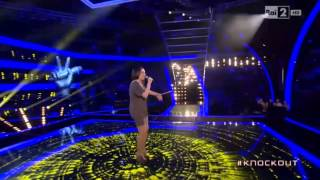SARA VITA FELLINE - THE VOICE OF ITALY - Knock - Out (Albachiara - V. Rossi)