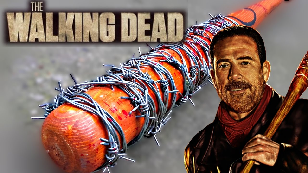Image result for walking dead flaming lucille
