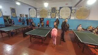 настольный теннис Николаев 09.12.2018 Кривошея - ... (Николаев, ОШ-11)