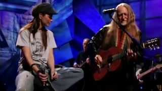 Blue eyes crying in the rain - Willie Nelson and Shania Twain