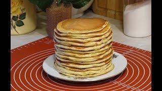 Блинчики на Кефире (Простокваше)Толстые Блины на Простокваше.Мамин Рецепт/Pancakes on yogurt