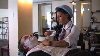 Straight Razor Shave Video