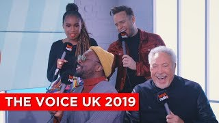 Olly Murs Can't Stop Spilling Secrets About #TheVoiceUK 2019 🙊😂