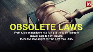 Obsolete laws: Did you know you could be jailed for flying kites inappropriately?