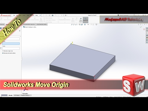 Solidworks How To Move Origin