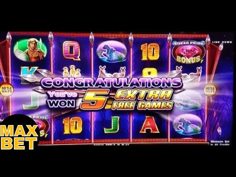 Silver Pride Slot Machine ★Max Bet★ Bonuses Won w/Retrigger ! Live Slot Play - 동영상