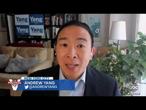 Andrew Yang Address Criticism from 2-Bedroom Apartment Comment  | The View