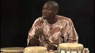 Aziz Faye, master drummer from Senegal