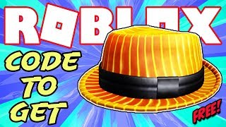 [PROMO CODE] HOW TO GET THE FIRESTRIPE FEDORA IN ROBLOX - FREE VIRTUAL ITEM!