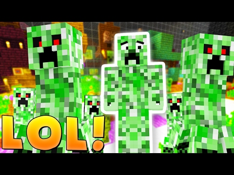 I CAN'T BELIEVE I GOT AWAY WITH THIS! - Minecraft MONSTERS INDUSTRIES