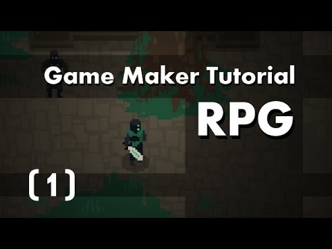 Game Maker Tutorial] Build an RPG [1] in 10mins - YouTube
