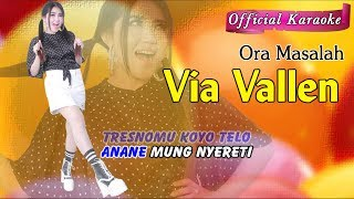 Karaoke ~ ORA MASALAH _ tanpa vokal   |   Official Karaoke