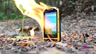 Тест защищенного смартфона Senseit P4