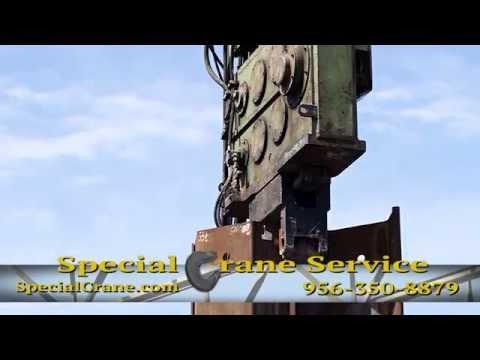 Special Crane Service | Crane Rentals w/Operator, Sea Walls & Pile Driving in Rio Grande Valley, TX