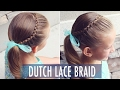 How to: Dutch Lace Braid | Great Beginner Hairstyle for All Ages | Brown Haired Bliss