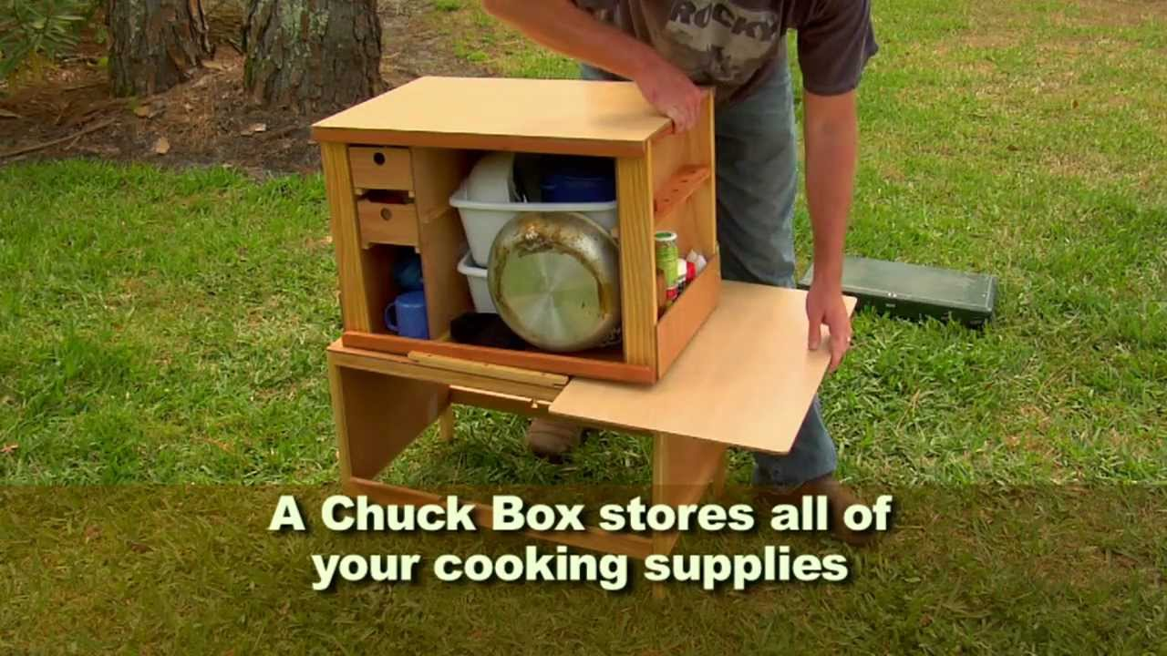 Ultimate Camping Chuck Box - YouTube