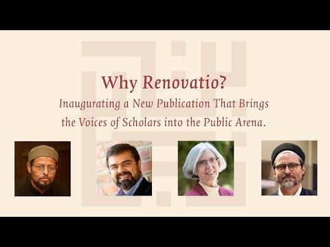 Renovatio: Inaugural Event