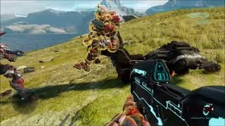 Halo 5 - Riding Destroyed Vehicles