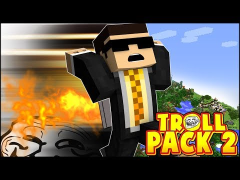BECOMING THE FASTEST MAN ALIVE & BUILDING A JETPACK | TROLL PACK SEASON 2 #21 (Minecraft)