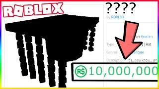 THIS ITEM IS WORTH 10 MILLION ROBUX IN ROBLOX
